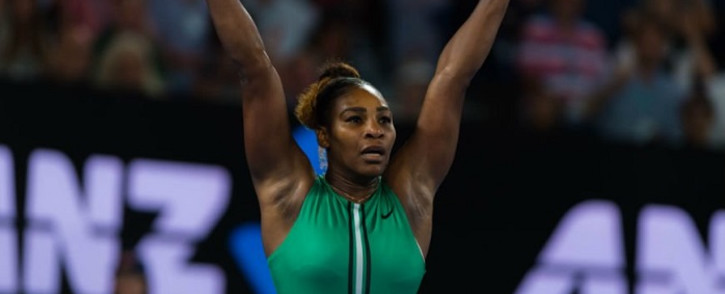 FILE: Serena Williams at the Australian Open. Picture: AustralianOpen/Twitter