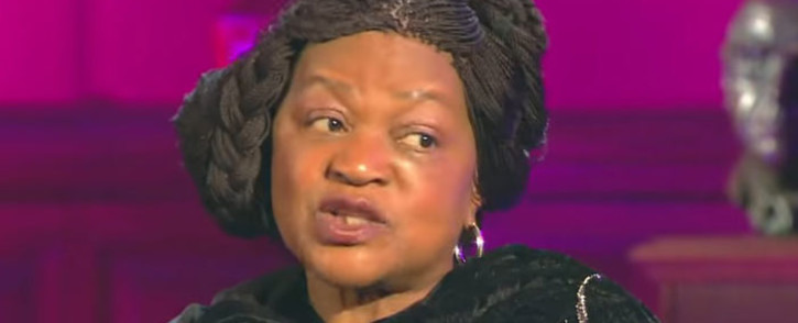 A YouTube screengrab shows former National Assembly speaker Baleka Mbete during an interview with Al Jazeera. Picture: Al Jazeera English/youtube.com