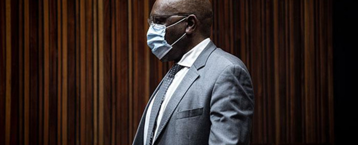 FILE: Former ANC MP Vincent Smith appears in the Palm Ridge Magistrates Court on 14 October 2020 in connection with a fraud and corruption case. Picture: Xanderleigh Dookey-Makhaza/Eyewitness News