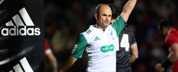 FILE: Rugby referee Jaco Peyper. Picture: AFP.