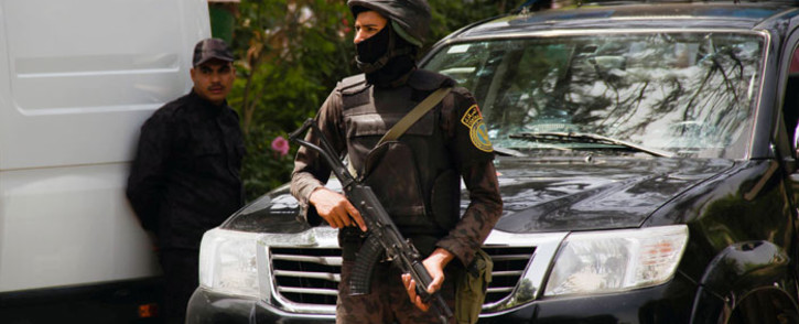 FILE: Egyptian security forces. Picture: AFP