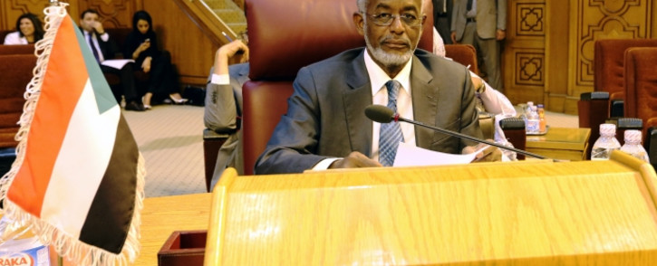 FILE: Sudanese Foreign Minister Ali Ahmed Karti attends the Arab League Foreign Ministers emergency meeting at the League's headquarters in Cairo, Egypt, 14 July 2014. Picture: EPA/KHALED ELFIQI.
