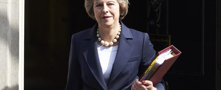 British Prime Minister Theresa May. Picture: Niklas Halle'n/AFP.