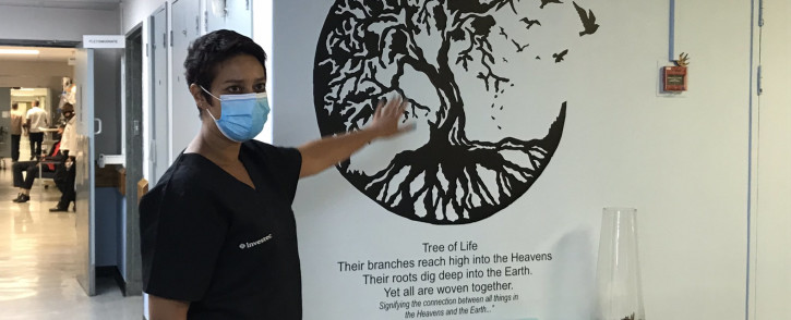 FILE: Doctor Usha Lalla, head of the hospital's COVID-19 ICU, has urged South Africans to take the coronavirus vaccine shot and help bring an end to the devastation. Picture: Kevin Brandt/EWN