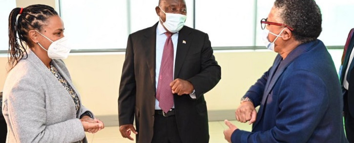 President Cyril Ramaphosa was in Cape Town on Tuesday for the establishment of the Transnet National Ports Authority as an independent subsidiary of Transnet on Tuesday. Picture: Presidency SA.