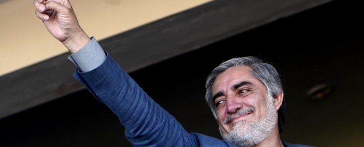 FILE: Abdullah's camp rejected preliminary results of last month's run-off polls saying it was invalid. Picture: AFP.