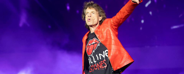 British rock icon Mick Jagger. Picture: @therollingstones/Facebook.com.