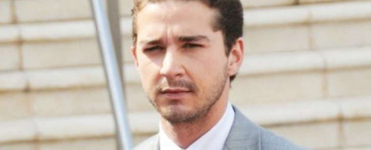 US actor Actor Shia LaBeouf. Picture: Facebook.