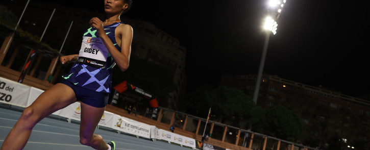 FILE: Ethiopian athlete Letesenbet Gidey. Picture: Twitter/@WorldAthletics
