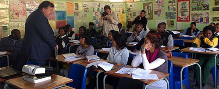FILE: Western Cape Education MEC Donald Grant says the first term has been successful but there are still some concerns. Picture: Carmel Loggenberg/EWN.