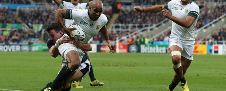 FILE: The Springboks' JP Pietersen in action. Picture: Rugby World Cup website.