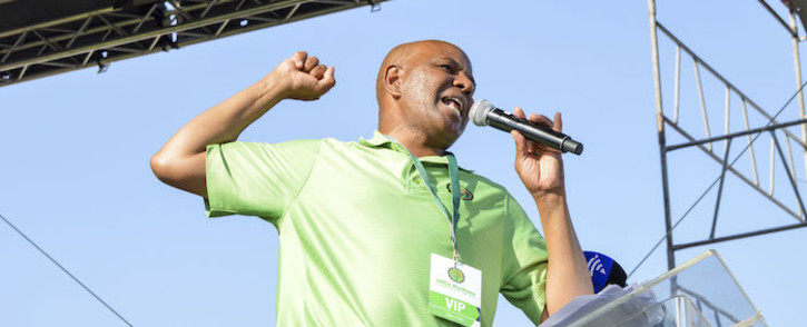 FILE: Association of Mineworkers and Construction Union (Amcu) leader Joseph Mathunjwa called on more workers to join his union, saying it's the only way they'll be liberated. Picture: Emily Corke/EWN.