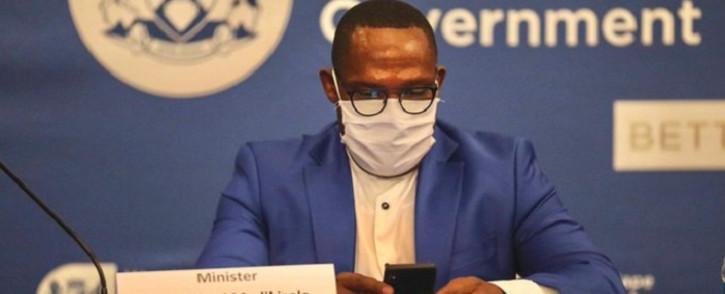 FILE: DA's Bonginkosi Madikizela is accused of lying on his CV. Picture @MbalulaFikile/Twitter
