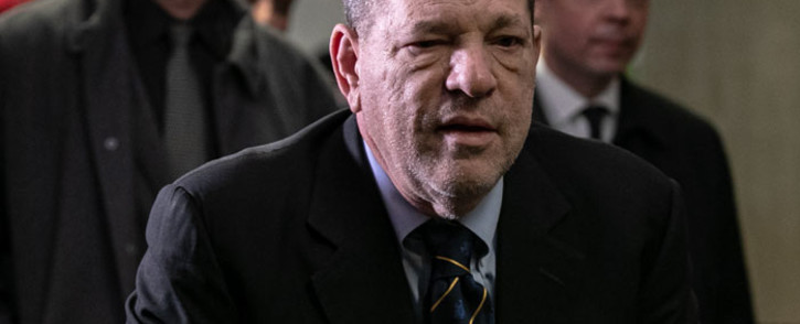 FILE: Earlier this week, Weinstein was reported to have been one of two people to test positive for the virus in New York's Wende Correctional Facility, just days into his 23-year sentence.. Picture: AFP