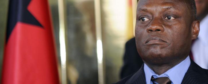 Guinea-Bissau President Jose Mario Vaz. Picture: AFP.