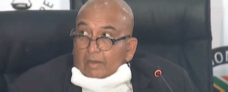 Former Eskom board member Pathmanathan Naidoo at the state capture commission on 10 February 2021. Picture: YouTube screengrab.
