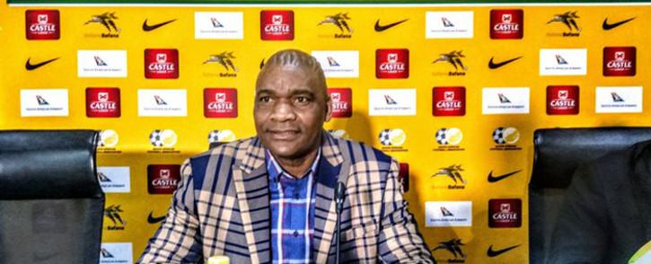 Newly appointed Bafana Bafana full-time coach Molefi Ntseki. Picture: @BafanaBafana/Twitter.