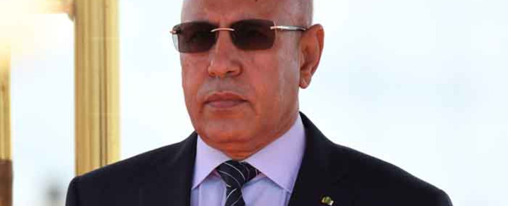 Mauritanian President Mohamed Ould Ghazouani in  September 2019. Picture: AFP.