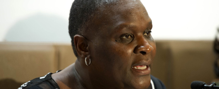 National Police Commissioner, Riah Phiyega. Picture: GCIS.