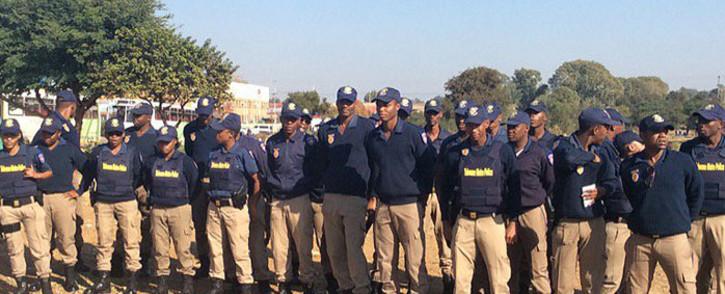 Tshwane Metro Police officers. Picture: @CityTshwane