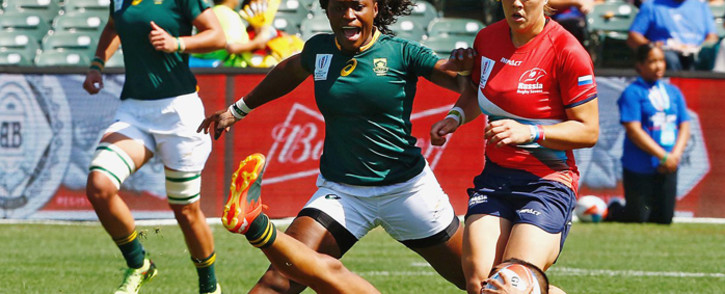 FILE: The Springbok Women's Rugby side with tour Europe In November for three Test matches. Picture: @WomenBoks/Twitter