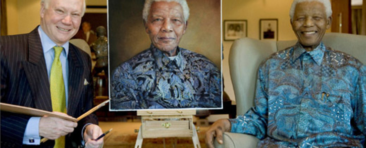 Mandela memorabilia, including an iconic signed photograph of the former statesman, will go on auction.