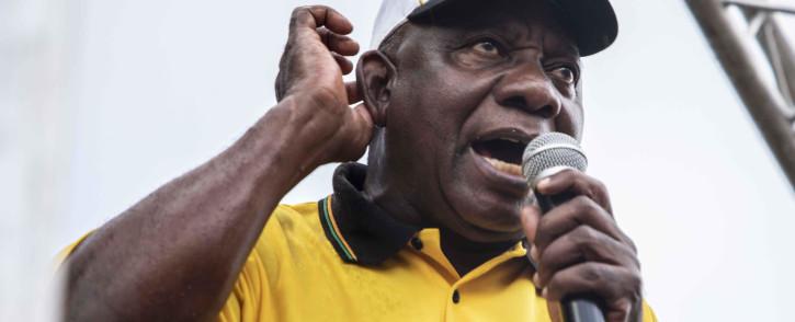 FILE: President Cyril Ramaphosa. Picture: Abigail Javier/EWN.