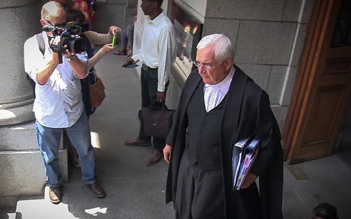 Francois van Zyl exits the Western Cape High Court on 24 November 2014. Picture: Aletta Gardner/EWN