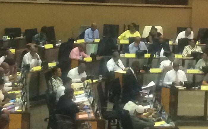 Members of the Provincial Legislature debating the Gauteng State of the Province Address on 25 February, 2016. Picture: Masa Kekana/EWN.