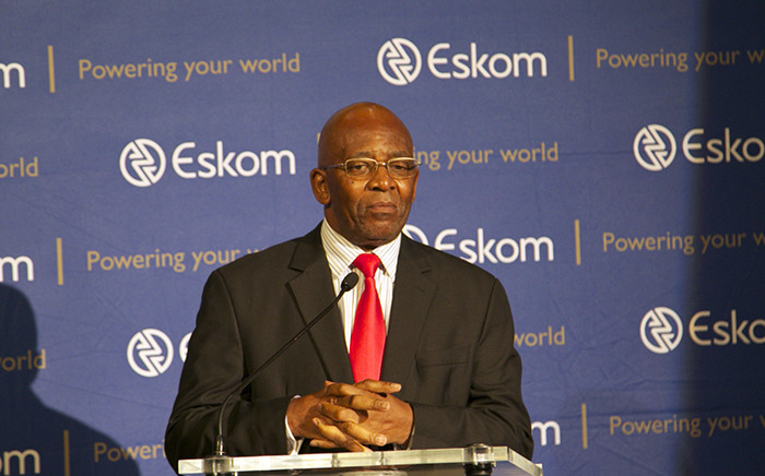 FILE: Eskom Chairman Zola Tsotsi sitting talking to media and staff after the utility called an emergency press briefing at its Megawatt Park on 12 March 2015. Picture: Reinart Toerien/EWN.