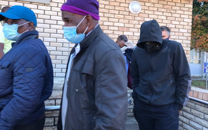 Nine suspects appeared in a Port Elizabeth court on 20 November 2020 on charges of fraud, money laundering, corruption, and contraventions of the Municipal Finance Management Act. Picture: NPA