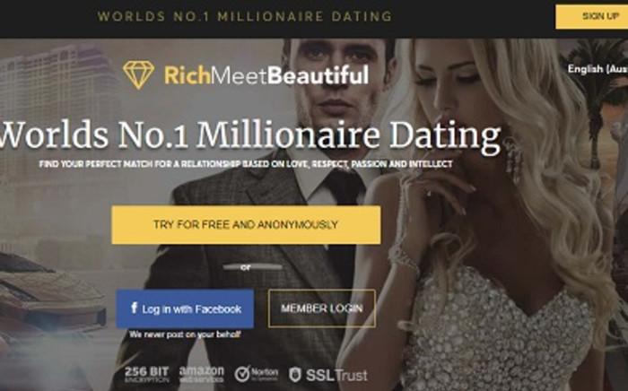 RichMeetBeautiful website. Picture: Richmeetbeautiful.com