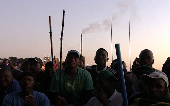 FILE: Wage talks between unions and the Chanber of Mines have collapsed. Unions now say gold sector strike is unavoidable. Picture: Reinart Toerien/EWN