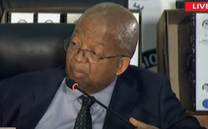 Former human settlements Head of Department Nthimose Mokhesi. Picture: YouTube Screenshot