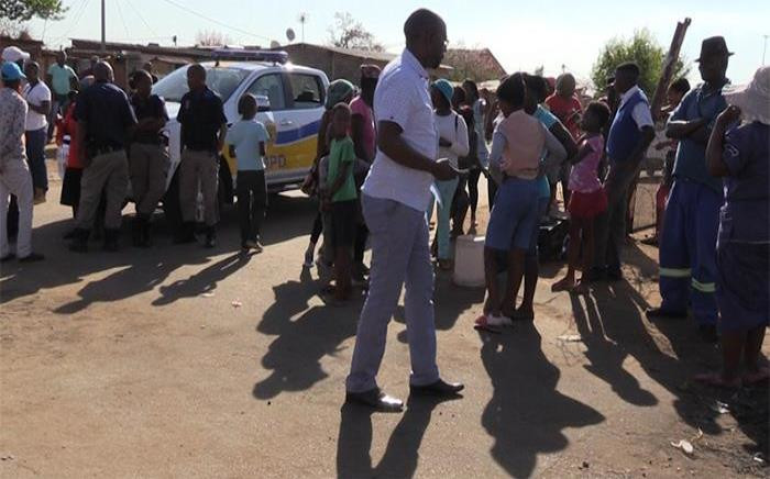 Community members up in arms as they are tired of the infamous OVL gang. Picture: Kgothatso Mogale/EWN