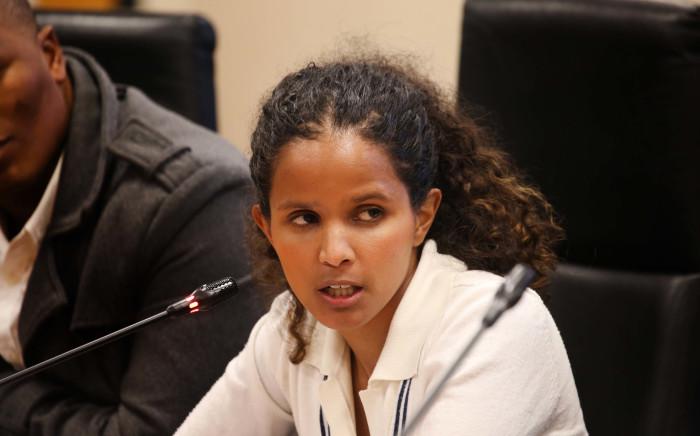 FILE: City of Cape Town Mayco member Xanthea Limberg. Picture: Bertram Malgas/Eyewitness News
