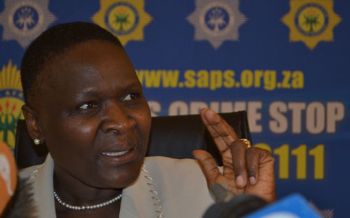 FILE: National Police Commissioner Riah Phiyega. Picture: EWN.