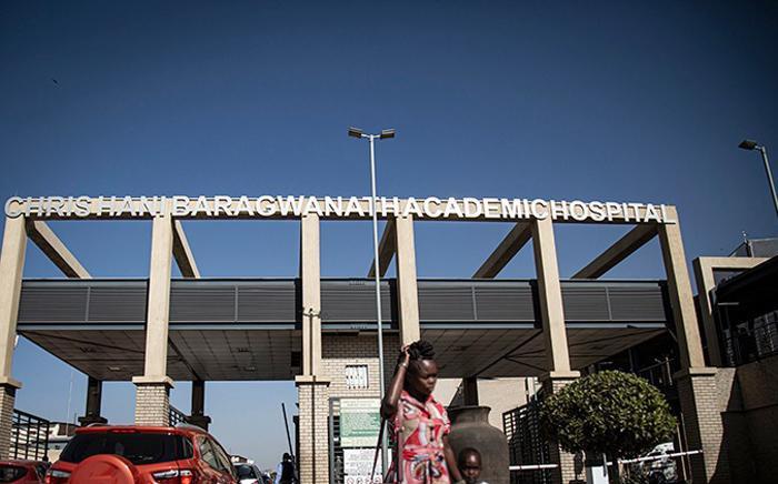 FILE: Chris Hani Baragwanath Academic Hospital. Picture: Sethembiso Zulu/EWN.