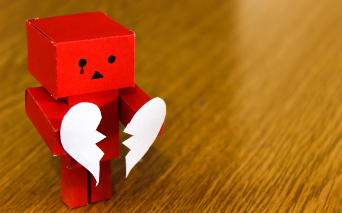 Sad grief depression
