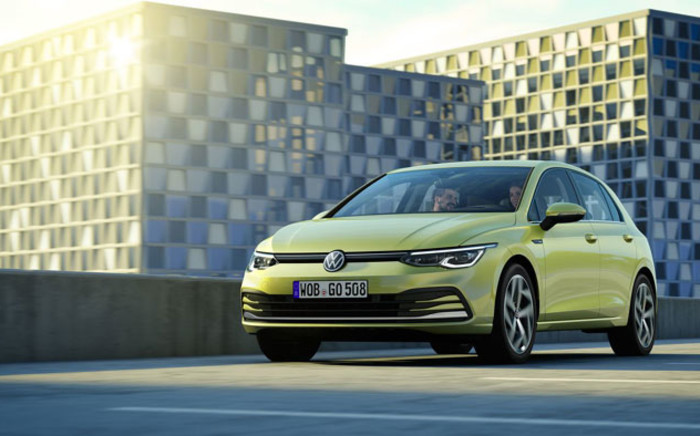 The Volkswagen Golf 8. Picture: @volkswagen/Twitter