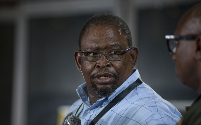 FILE: Enoch Godongwana gives a press conference on the outcomes of the economic transformation commission at the ANC's elective conference on 20 December 2017. He delivered the party's stance on land expropriation. Picture: Ihsaan Haffejee/EWN
