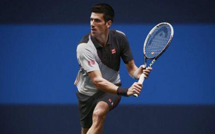 Serbian tennis player, Novak Djokovic in action at Australian Open. Picture: Facebook.