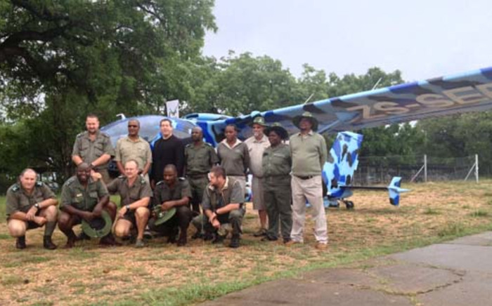 The Kruger National Park was given a new helicopter to help fight the scourge of rhino poaching. Picture: Govan Whittles/EWN