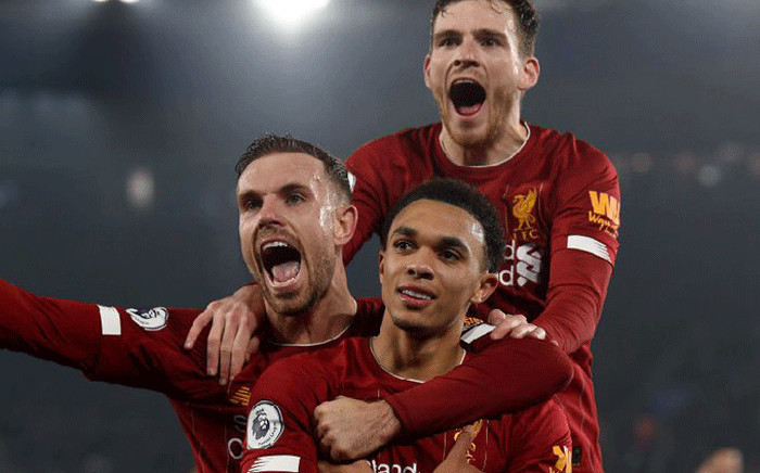 Roberto Firmino scored twice from Trent Alexander-Arnold crosses either side of James Milner's penalty before the brilliant Alexander-Arnold rounded off the scoring himself in a match against Leicester City on 26 December 2019. Picture: