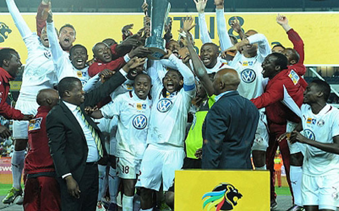 Moroka Swallows were crowned MTN8 champions on 22 September 2012. Picture: www.morokaswallows.co.za