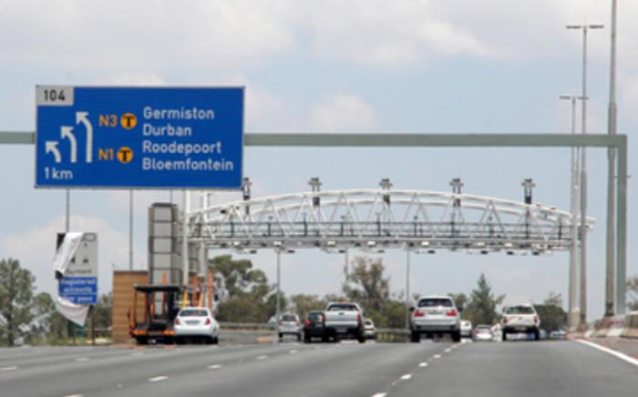 Gantries on Gauteng highway. Picture: Taurai Maduna/EWN