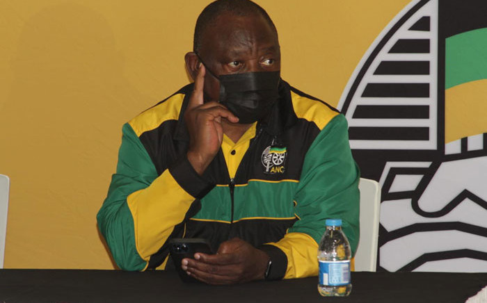African National Congress (ANC) president Cyril Ramaphosa. Picture: @MYANC/Twitter