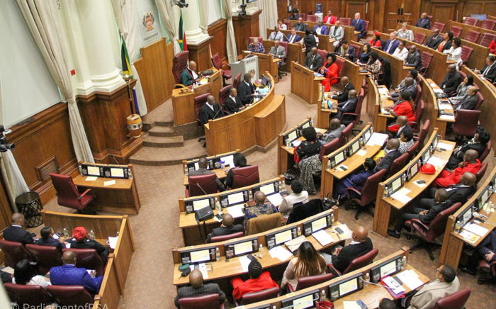 The first sitting of the National Council of Provinces in the sixth democratic government of South Africa on 23 May 2019. Picture: @ParliamentofRSA/Twitter