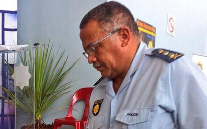 Western Cape Police Commissioner Arno Lamoer. Picture: EWN.