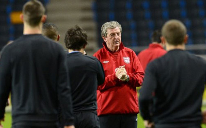 England coach Roy Hodgson hopes to lead his country to glory at the 2014 FIFA World Cup. Picture: AFP